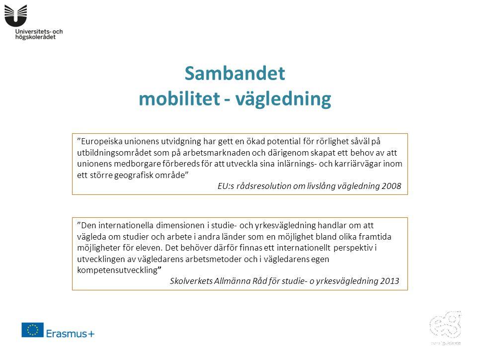 Sambandet mobilitet - vägledning