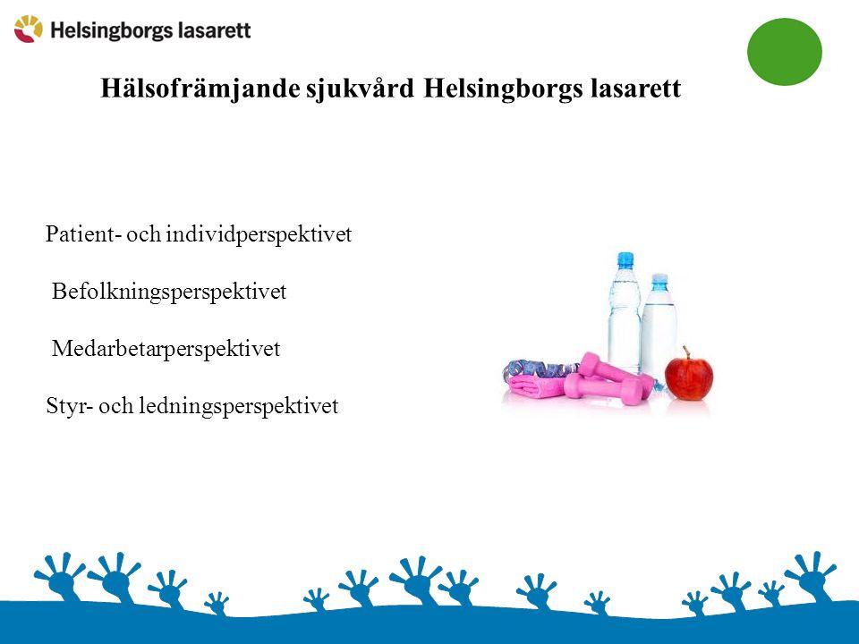 Hälsofrämjande sjukvård Helsingborgs lasarett