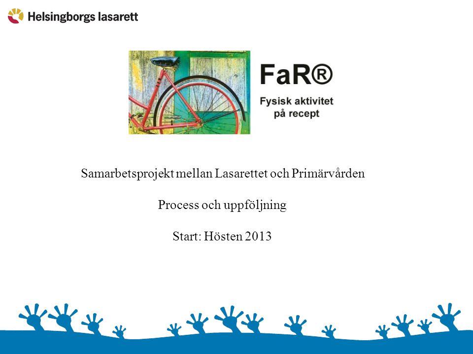 Samarbetsprojekt mellan Lasarettet och Primärvården