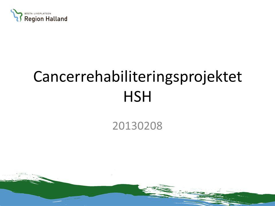 Cancerrehabiliteringsprojektet HSH