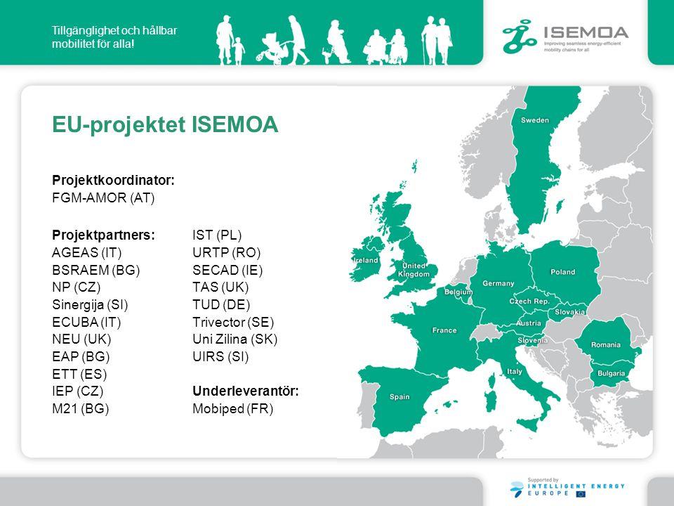 EU-projektet ISEMOA Projektkoordinator: FGM-AMOR (AT)