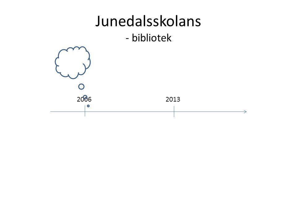 Junedalsskolans - bibliotek