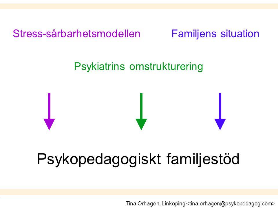 Psykopedagogiskt familjestöd