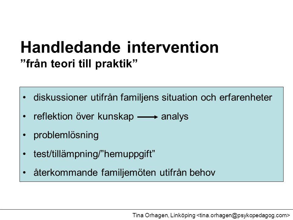 Handledande intervention från teori till praktik