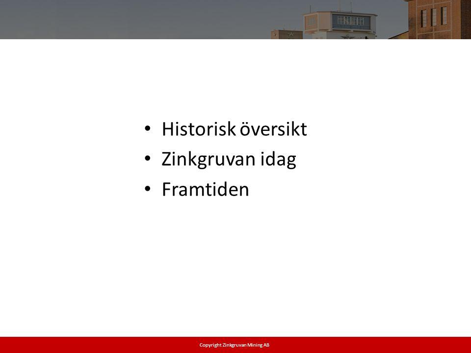Copyright Zinkgruvan Mining AB