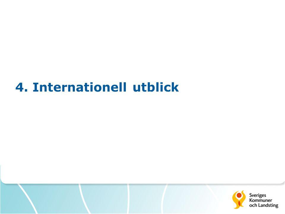 4. Internationell utblick