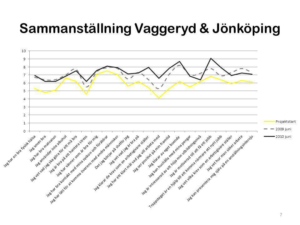 Sammanställning Vaggeryd & Jönköping