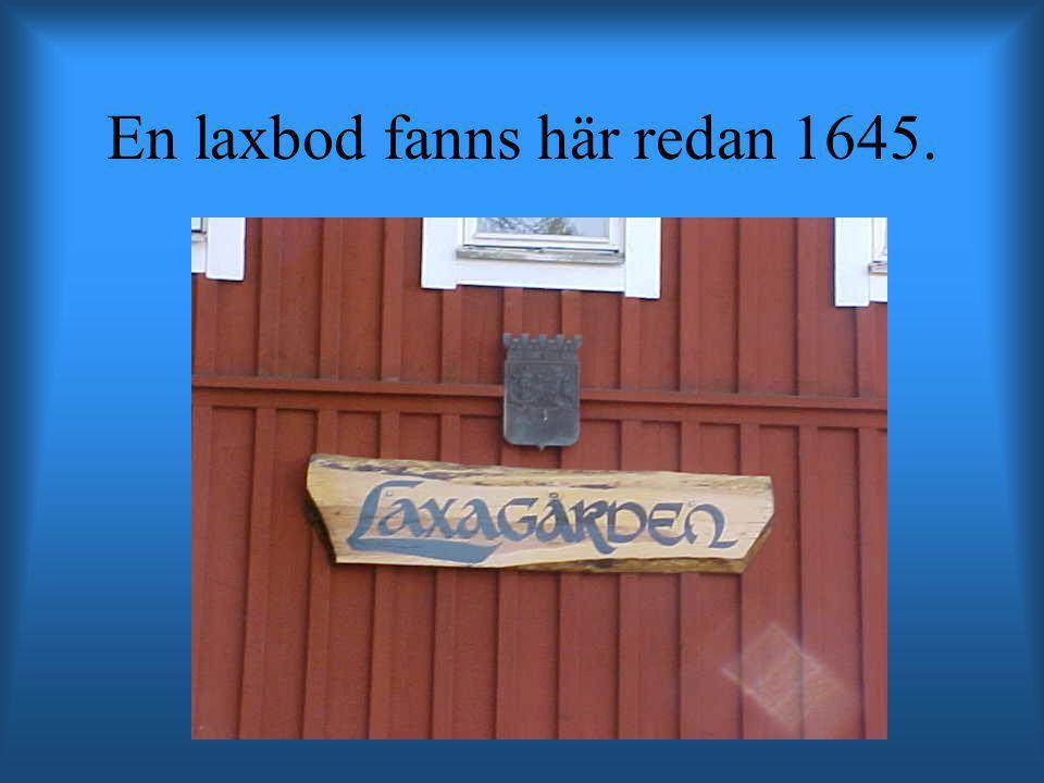 En laxbod fanns här redan 1645.