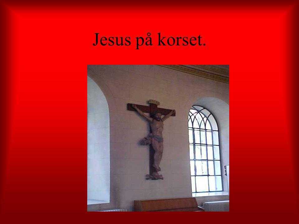 Jesus på korset.