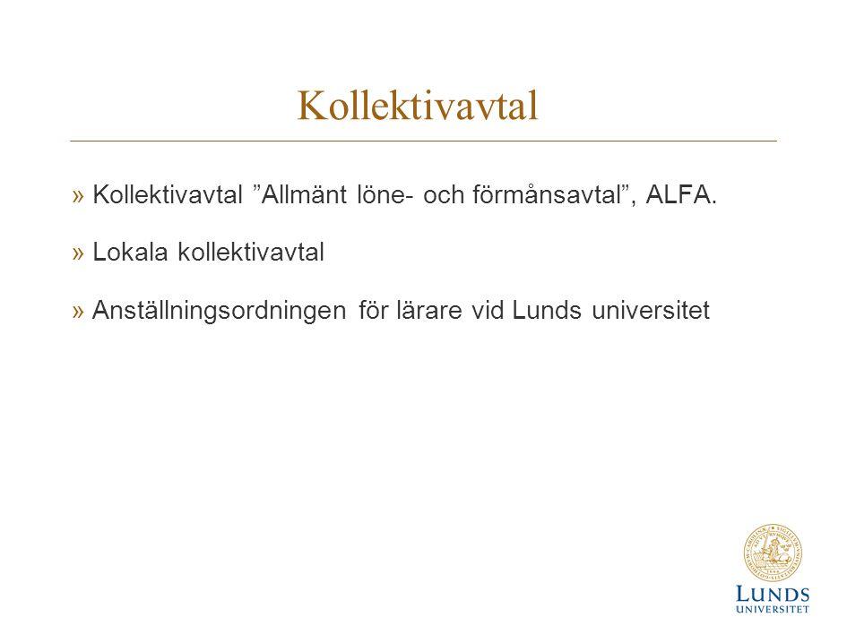 Kollektivavtal Kollektivavtal Allmänt löne- och förmånsavtal , ALFA.