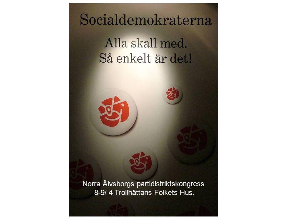 Norra Älvsborgs partidistriktskongress