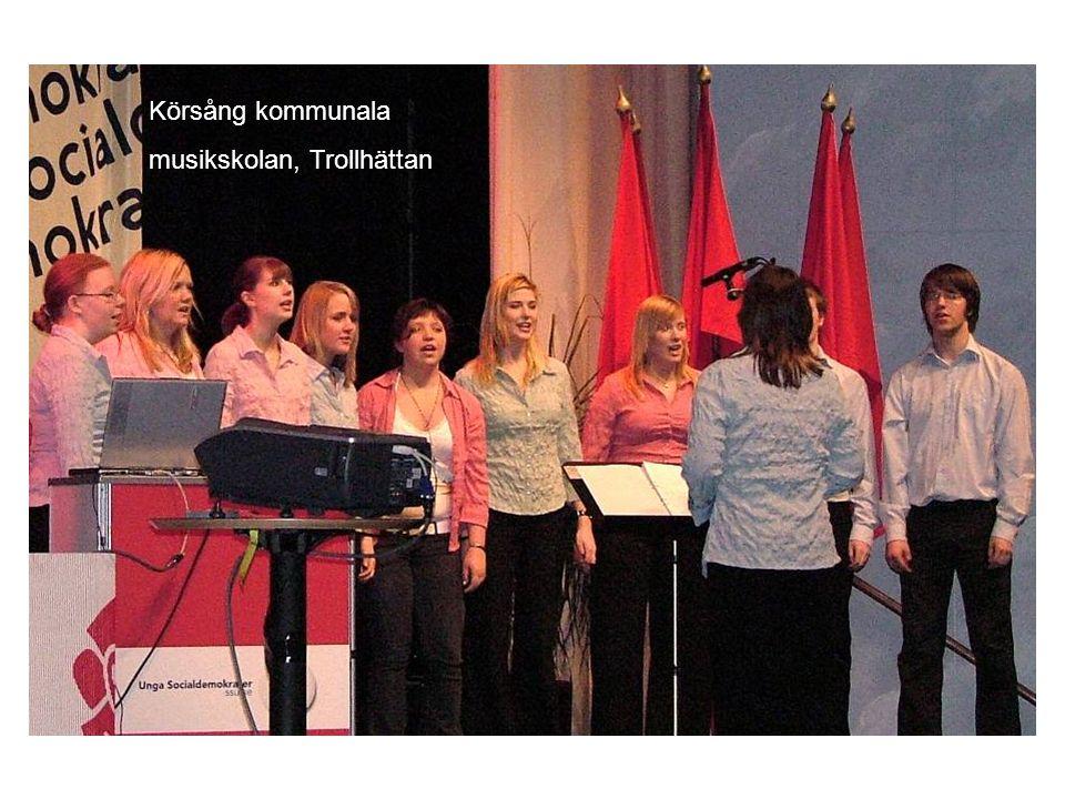 Körsång kommunala musikskolan, Trollhättan