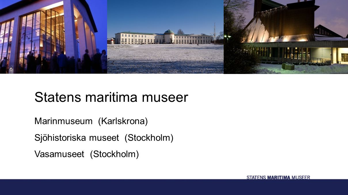Statens maritima museer