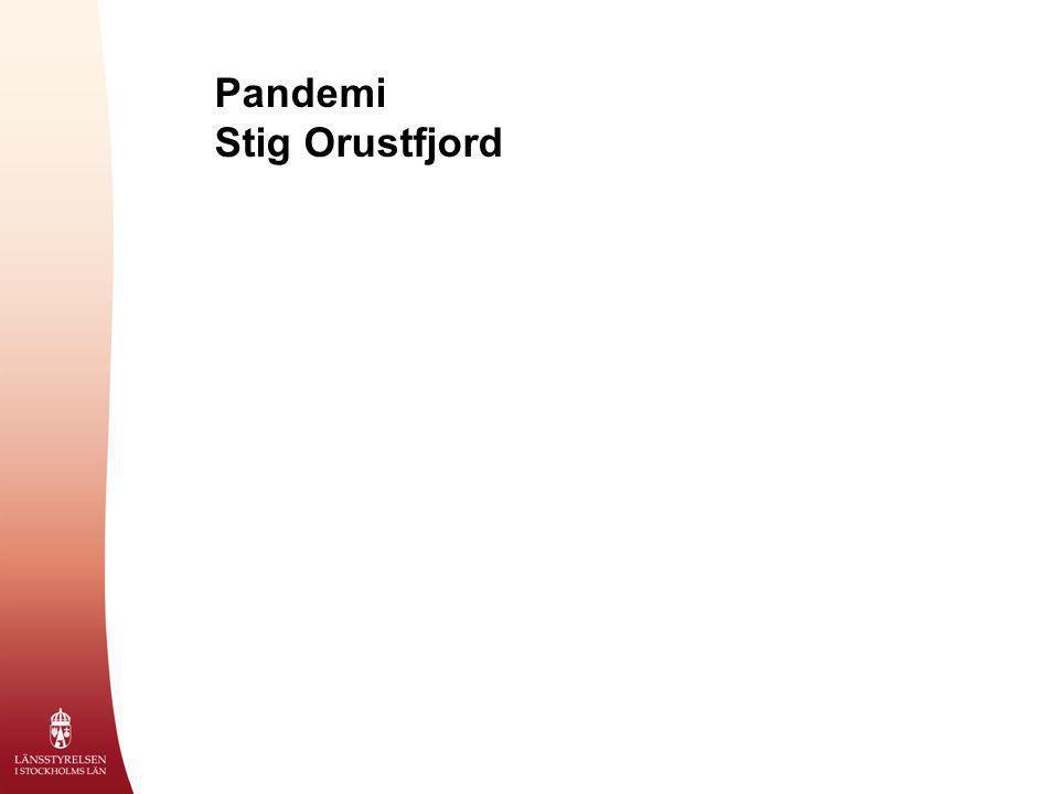 Pandemi Stig Orustfjord