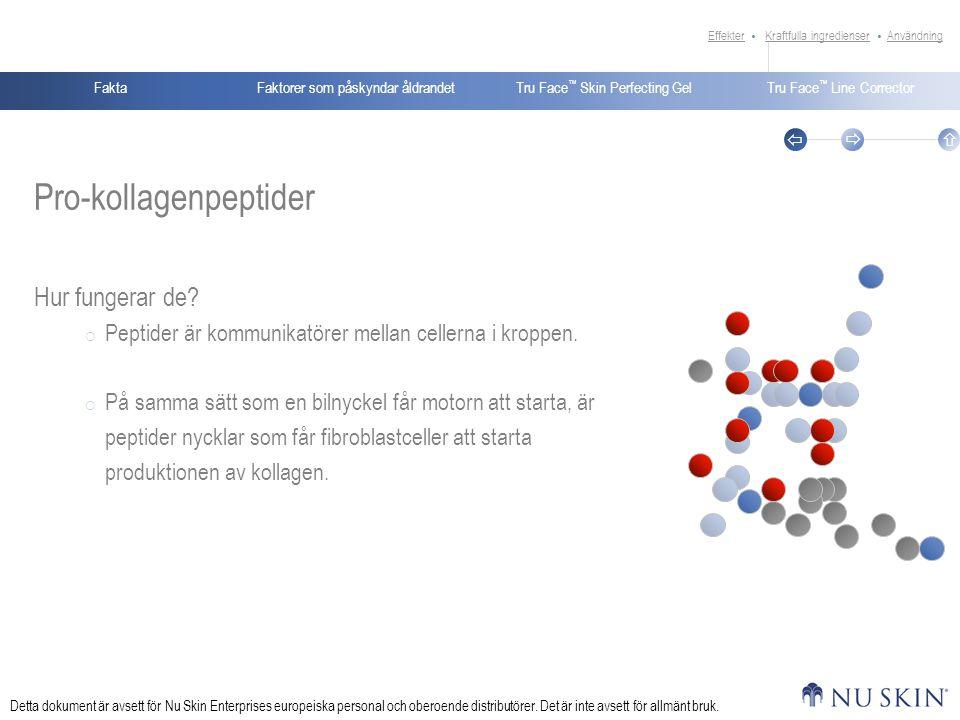 Pro-kollagenpeptider