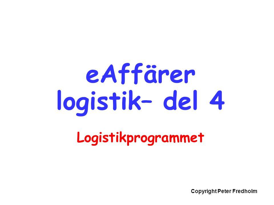 eAffärer logistik– del 4