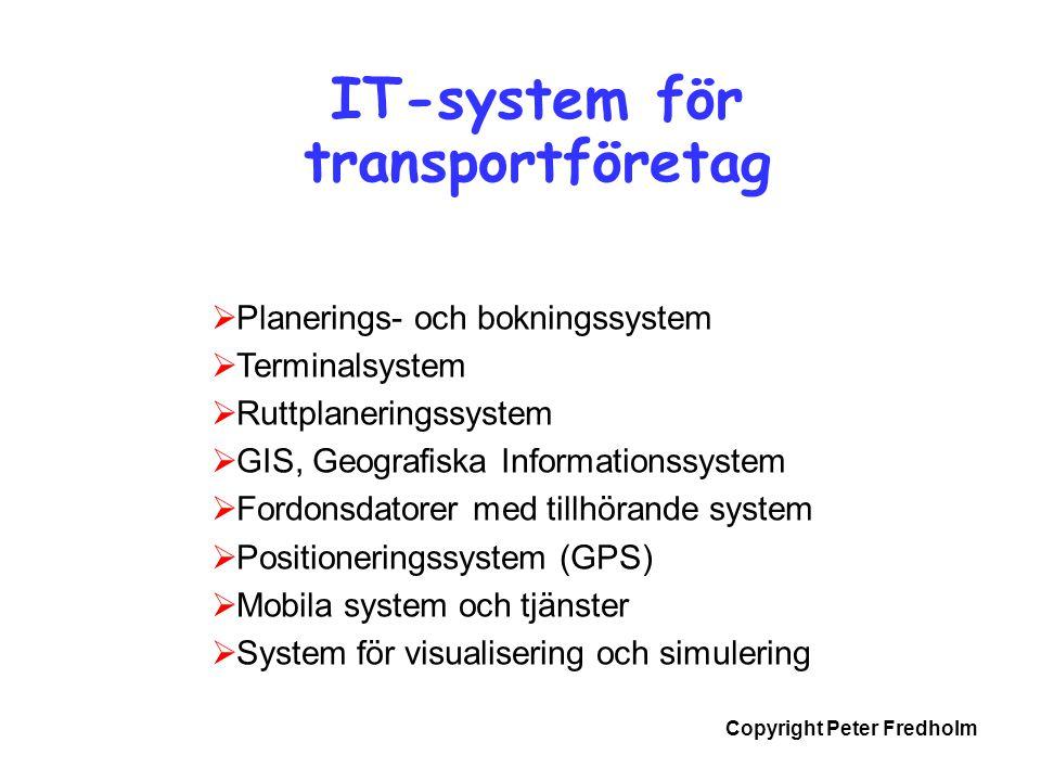 IT-system för transportföretag