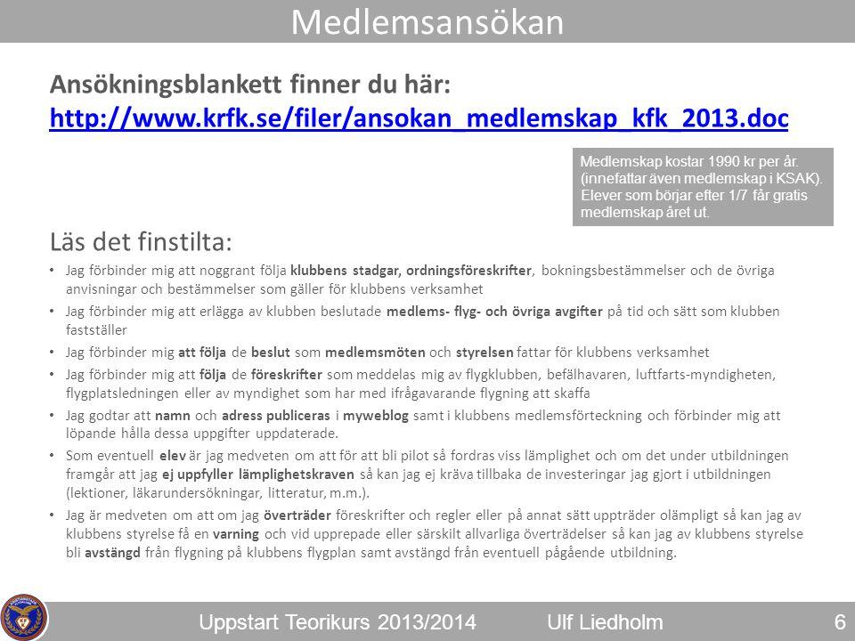 Medlemsansökan Ansökningsblankett finner du här: http://www.krfk.se/filer/ansokan_medlemskap_kfk_2013.doc.