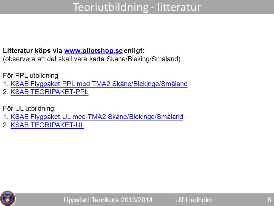 Teoriutbildning - litteratur