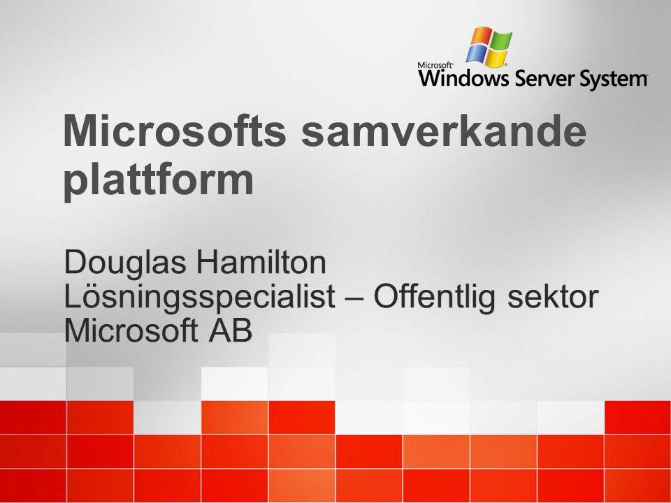 Microsofts samverkande plattform