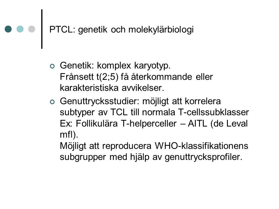 PTCL: genetik och molekylärbiologi
