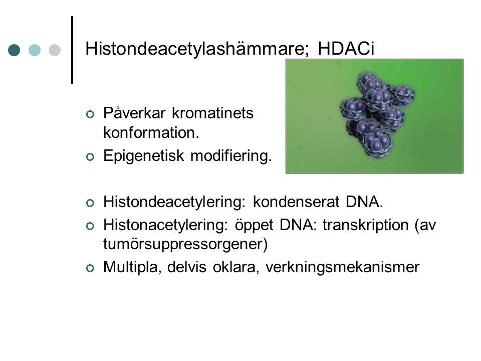 Histondeacetylashämmare; HDACi