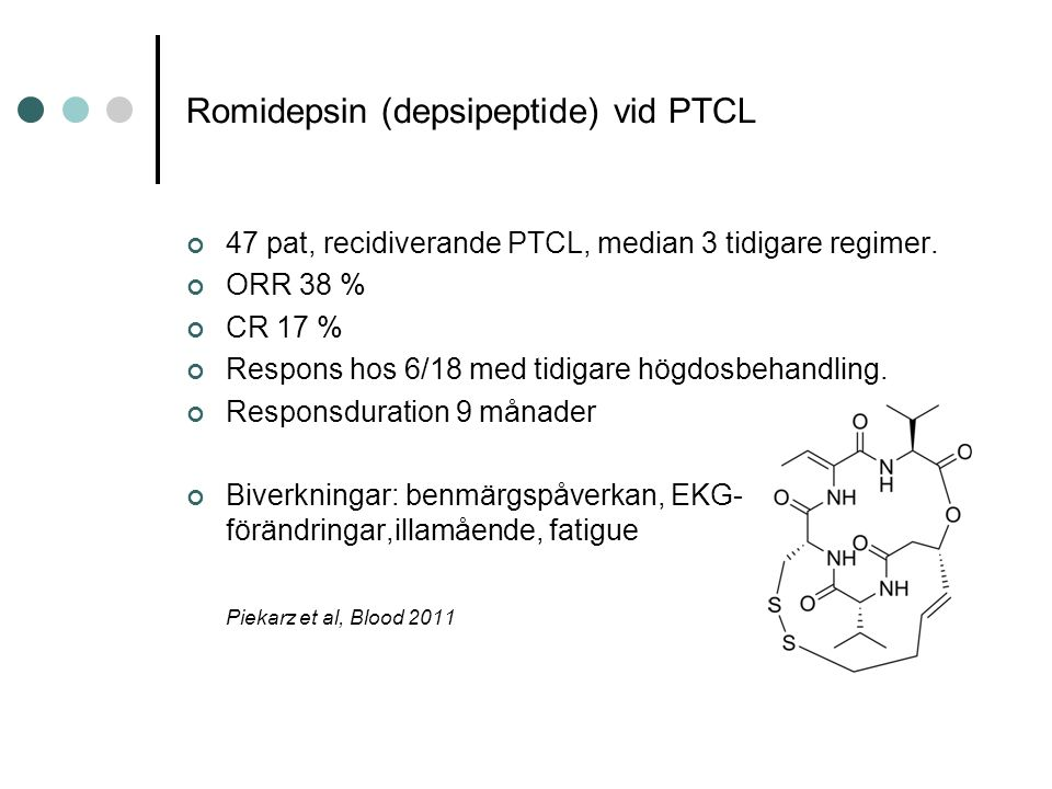 Romidepsin (depsipeptide) vid PTCL