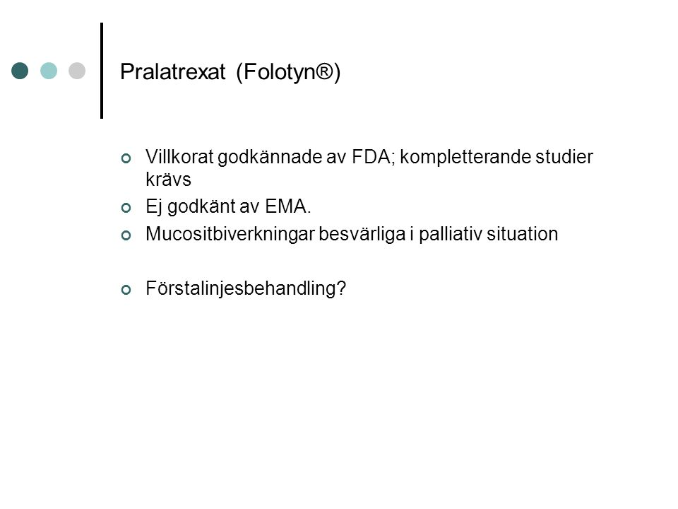 Pralatrexat (Folotyn®)
