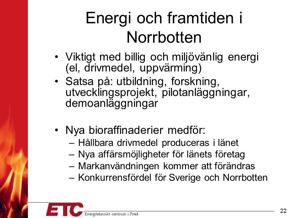 Energi och framtiden i Norrbotten