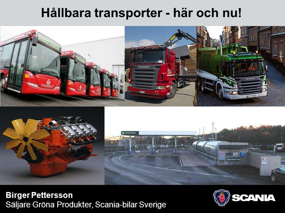Hållbara transporter - här och nu!