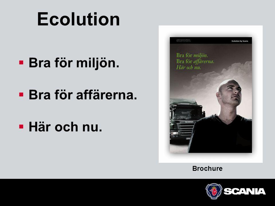Ecolution Bra för miljön. Bra för affärerna. Här och nu. Brochure