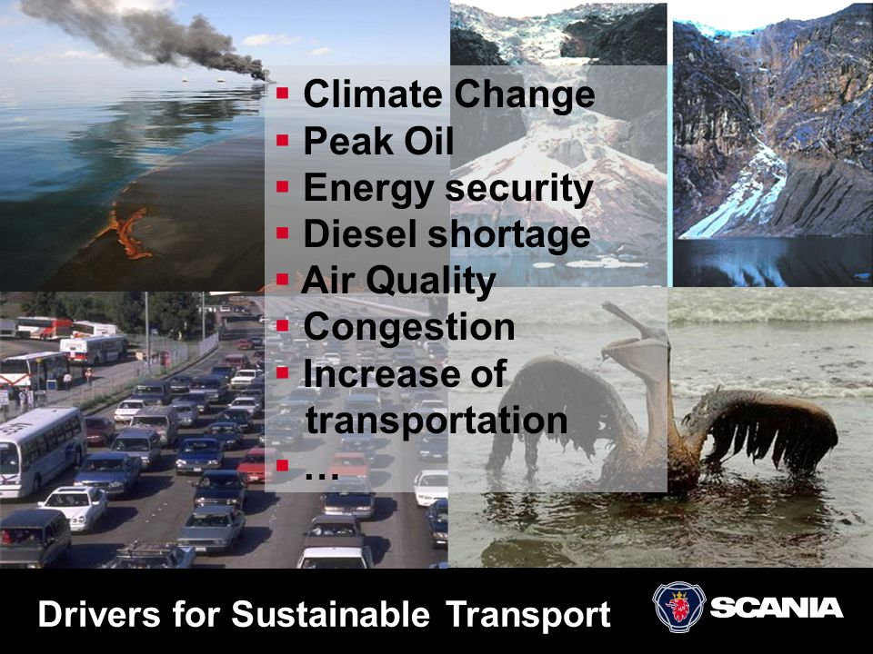 Drivers for Sustainable Transport