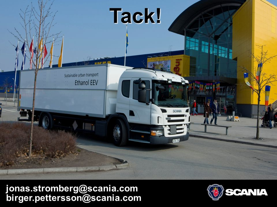 Scania – Sustainable Urban Transport – April 2008