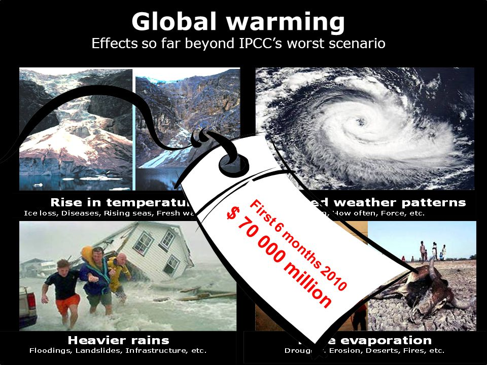 Global warming Effects so far beyond IPCC's worst scenario