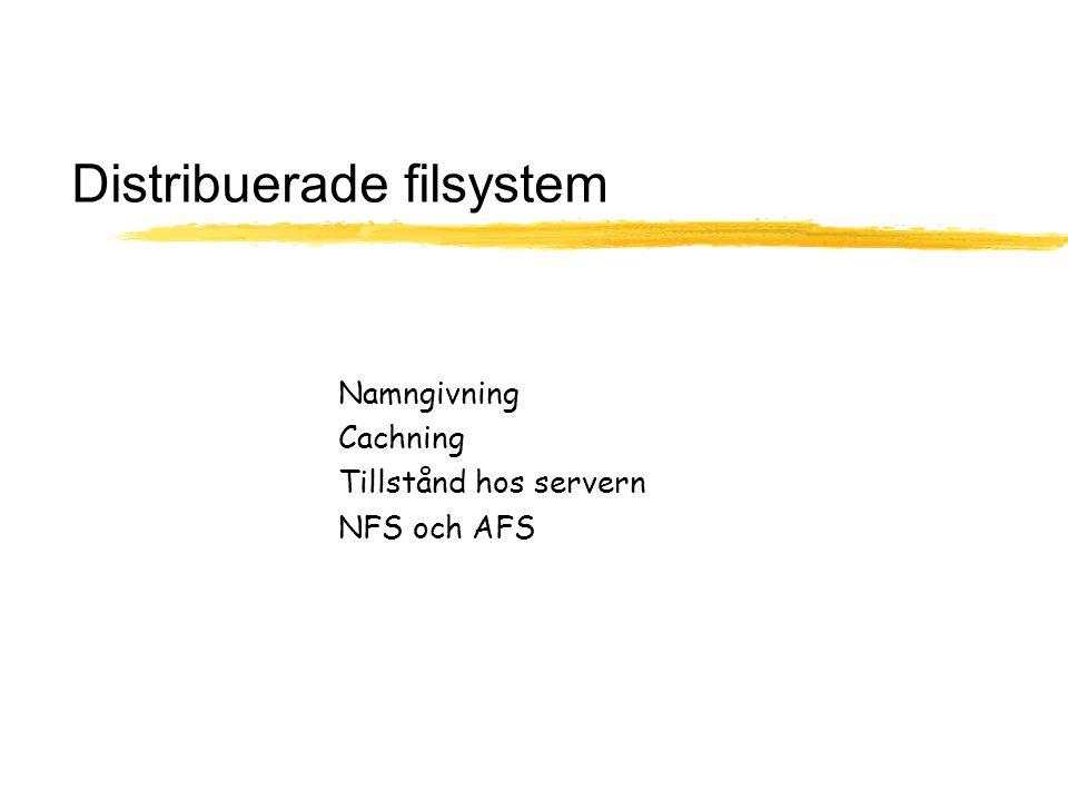 Distribuerade filsystem