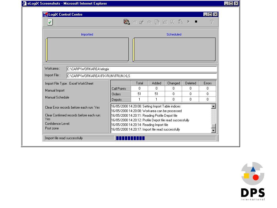 Elogix2 Import Engine (runs silently on server)