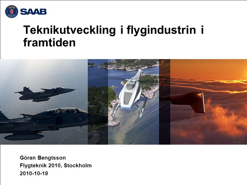 Teknikutveckling i flygindustrin i framtiden