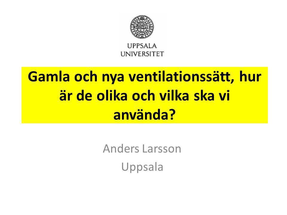 Anders Larsson Uppsala
