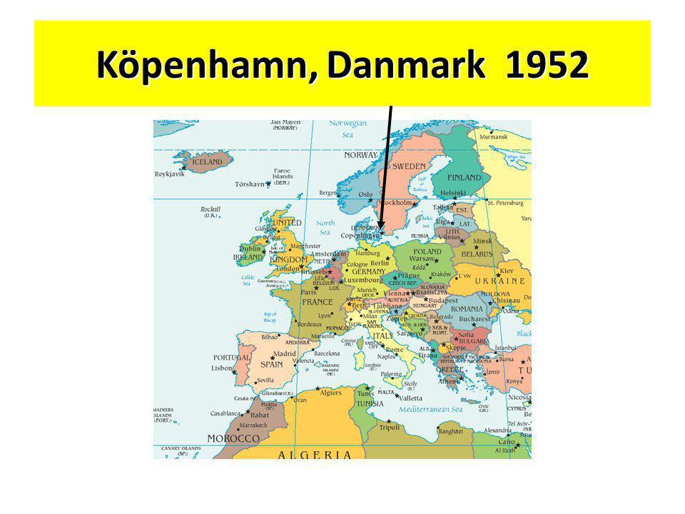 Köpenhamn, Danmark 1952