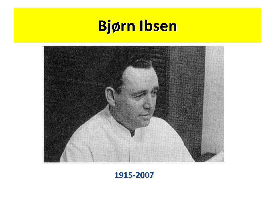 Bjørn Ibsen 1915-2007
