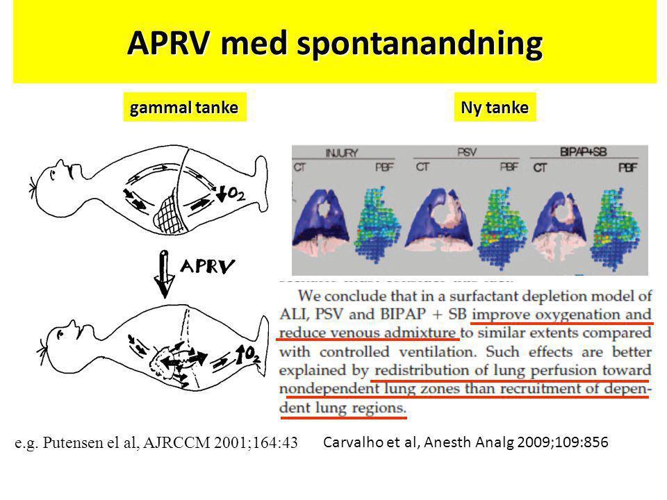 APRV med spontanandning