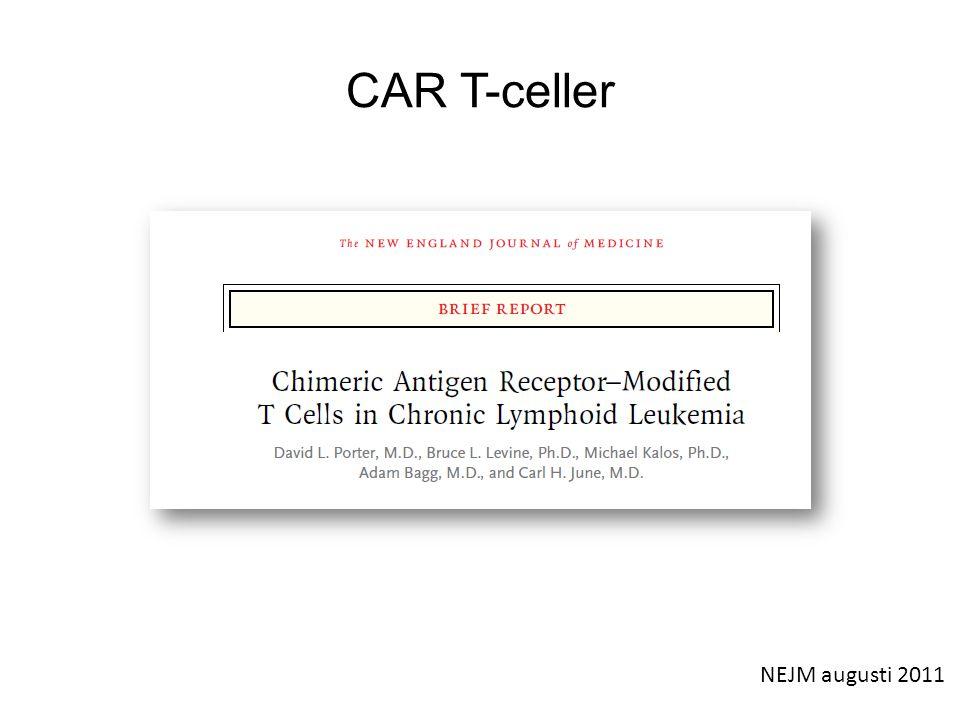 CAR T-celler NEJM augusti 2011