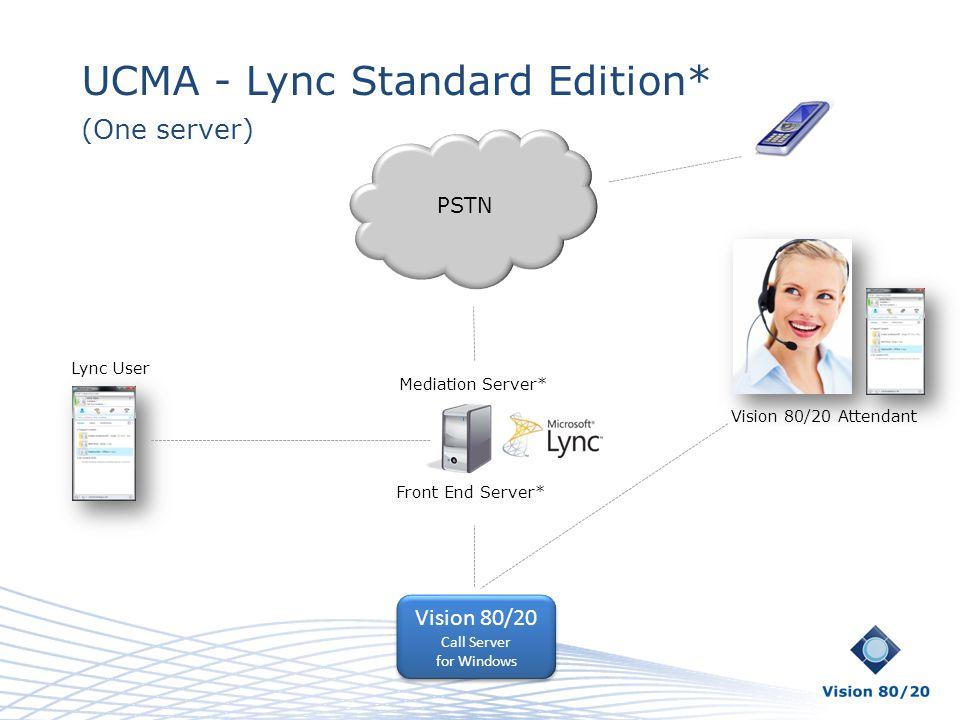 UCMA - Lync Standard Edition*