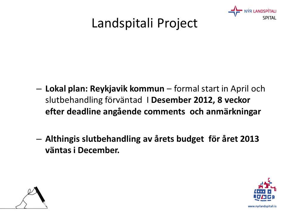 Landspitali Project