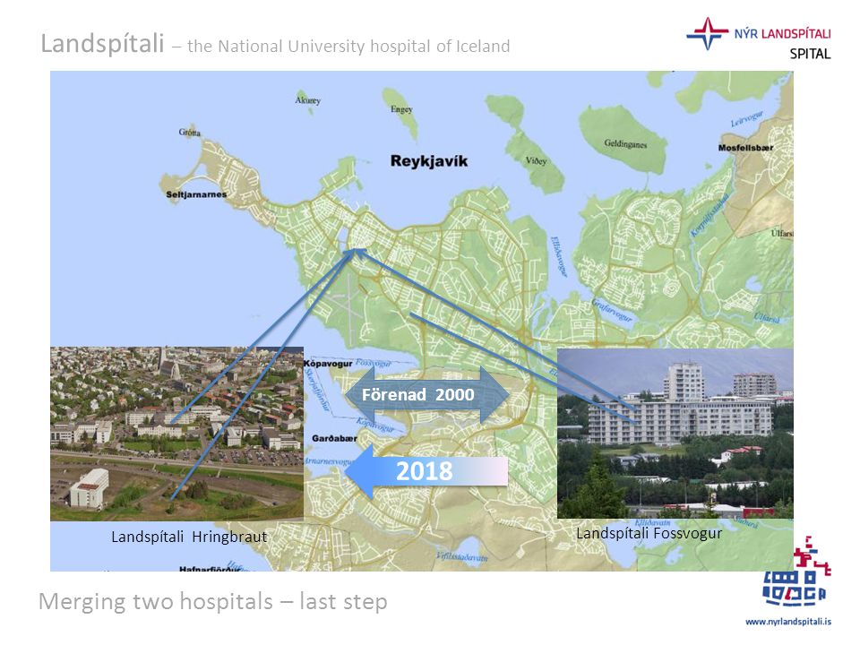 Merging two hospitals – last step
