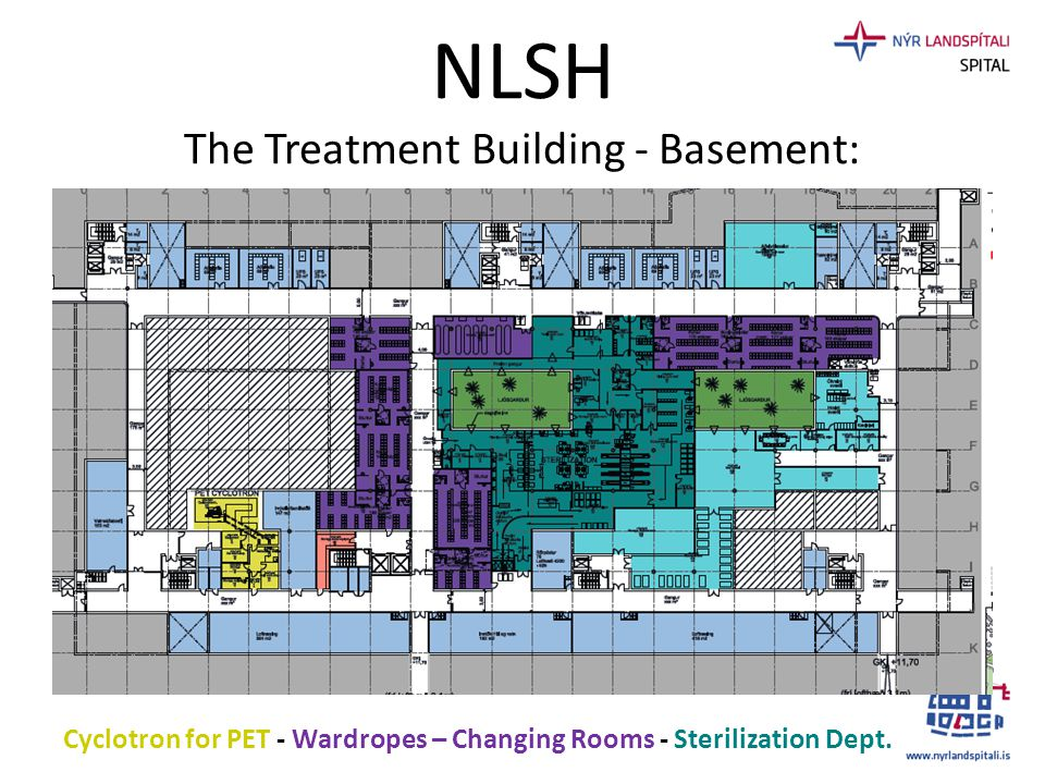 NLSH The Treatment Building - Basement: