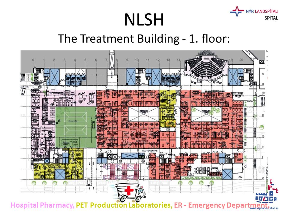 NLSH The Treatment Building - 1. floor: