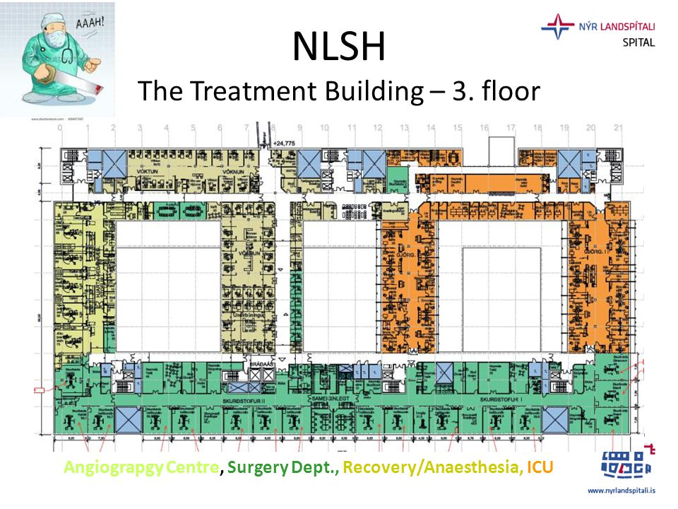 NLSH The Treatment Building – 3. floor