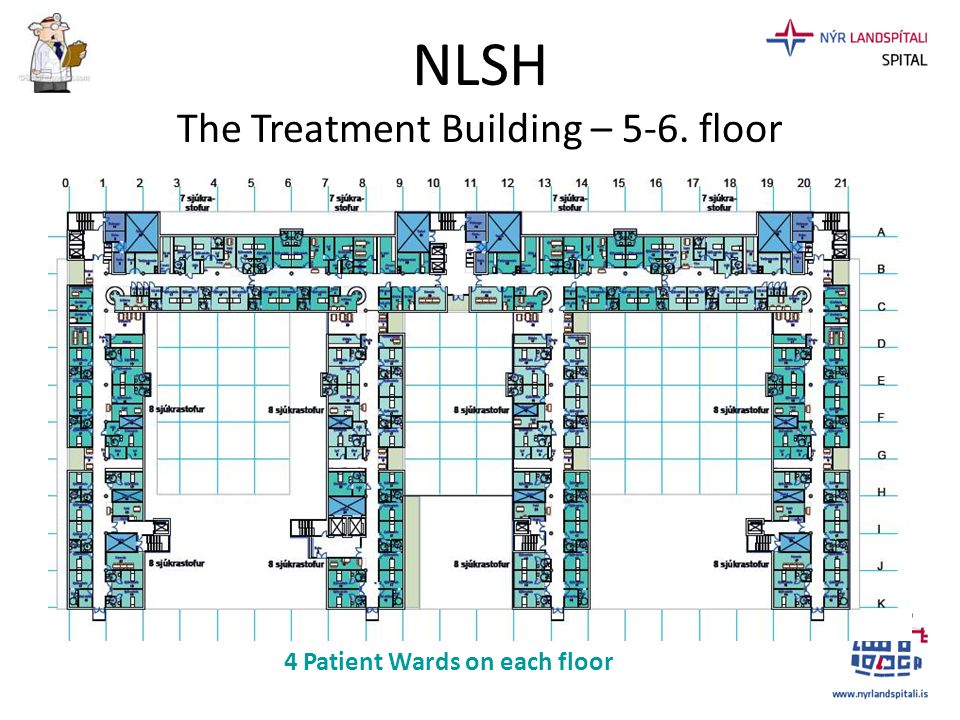NLSH The Treatment Building – 5-6. floor