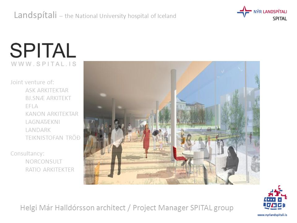 Helgi Már Halldórsson architect / Project Manager SPITAL group